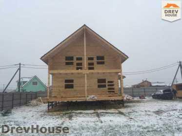 Строительство дома из бруса по проекту Авиньон   фаза 15