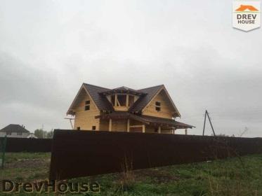 Строительство дома из бруса по проекту Евелина   фаза 29