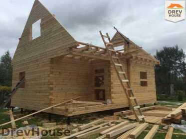 Строительство дома из бруса по проекту Толедо   фаза 11