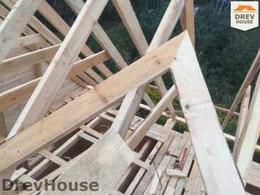 Строительство дома из бруса по проекту Толедо   фаза 14