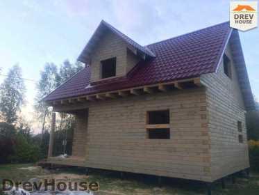 Строительство дома из бруса по проекту Толедо   фаза 18