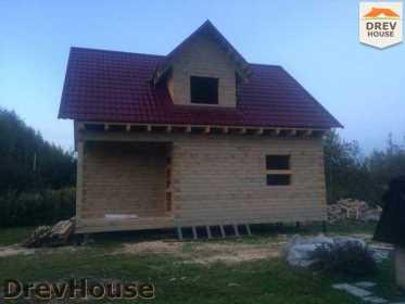 Строительство дома из бруса по проекту Толедо   фаза 19