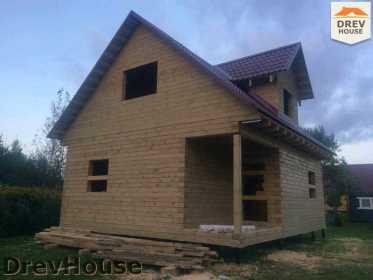 Строительство дома из бруса по проекту Толедо   фаза 20