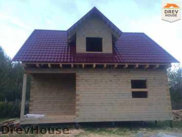 Строительство дома из бруса по проекту Толедо   фаза 21