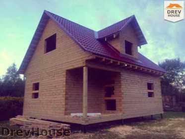 Строительство дома из бруса по проекту Толедо   фаза 22