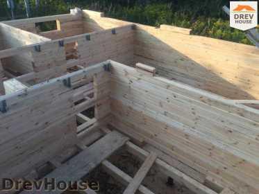 Строительство дома из бруса по проекту Толедо   фаза 6
