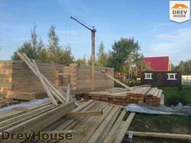 Строительство дома из бруса по проекту Толедо   фаза 9