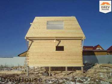 Строительство дома из бруса в деревне Ожерелье   фаза 10