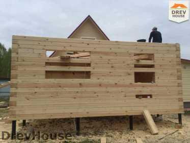 Строительство дома из бруса в городе Ивантеевка   фаза 11