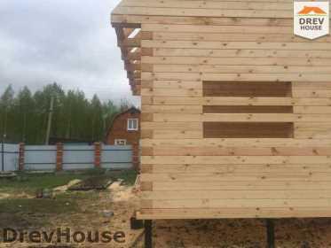 Строительство дома из бруса в городе Ивантеевка   фаза 15
