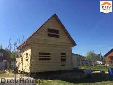 Строительство дома из бруса в городе Ивантеевка   фаза 21