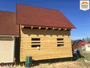 Строительство дома из бруса в городе Ивантеевка   фаза 22
