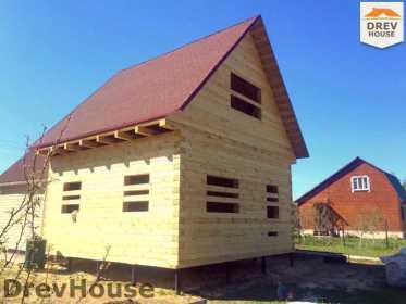 Фоторепортаж строительства дома из бруса в г. Ивантеевка, МО