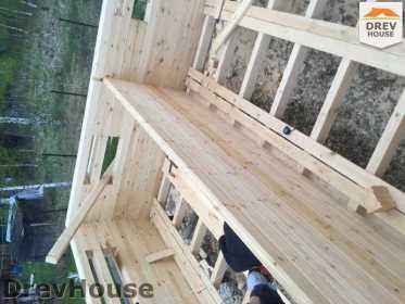 Строительство дома из бруса в городе Ивантеевка   фаза 8