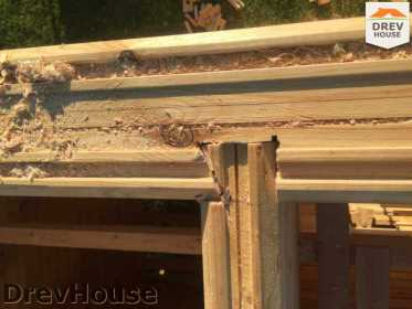 Строительство дома из бруса в коттеджном поселке Панорамы   фаза 15