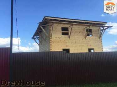 Строительство дома из бруса в коттеджном поселке Панорамы   фаза 29