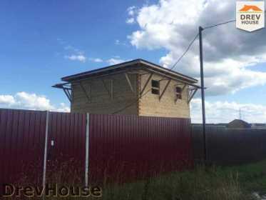 Строительство дома из бруса в коттеджном поселке Панорамы   фаза 30
