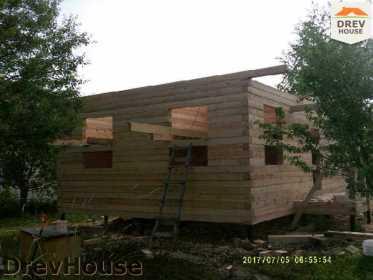 Строительство дома из бруса в поселке Дровосеки   фаза 4