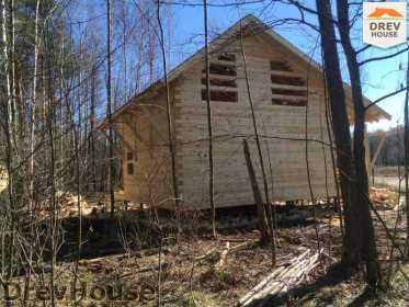 Строительство дома из бруса в поселке Львово   фаза 21