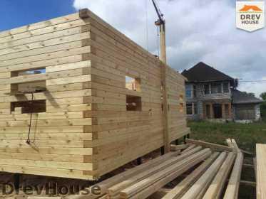 Строительство дома из бруса в поселке Мансурово   фаза 13