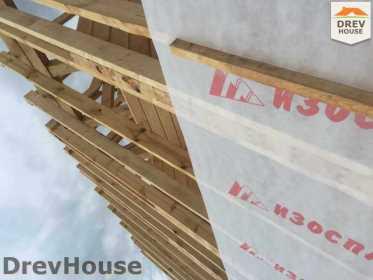 Строительство дома из бруса в поселке Мансурово   фаза 22