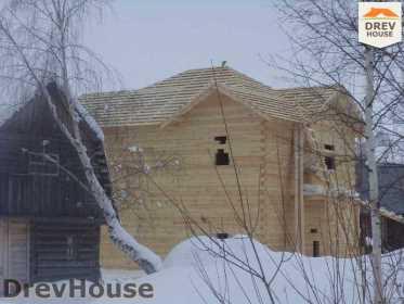 Строительство дома из бруса в поселке Нарцисс   фаза 5