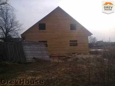 Строительство дома из бруса в поселке Строитель   фаза 11