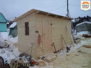 Строительство сруба дома из бревна в деревне Авдотьино   фаза 7