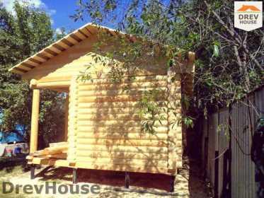 Строительство сруба дома из бревна в поселке Пущино   фаза 20