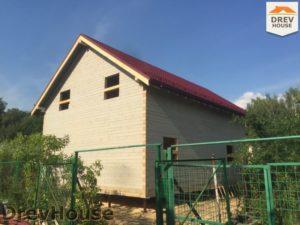 Строительство дома из бруса в СНТ Аникеевка   фаза 14
