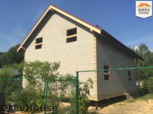 Строительство дома из бруса в СНТ Аникеевка   фаза 15