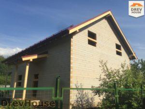 Строительство дома из бруса в СНТ Аникеевка   фаза 17