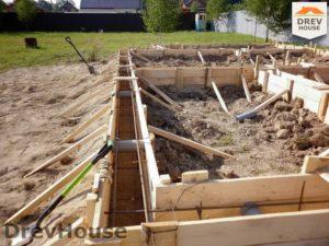 Строительство дома из бруса в СНТ Маслово   фаза 2