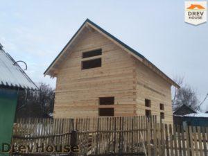 Строительство дома из бруса в деревне Потаповское   фаза 14