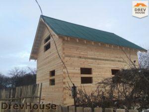 Строительство дома из бруса в деревне Потаповское   фаза 15