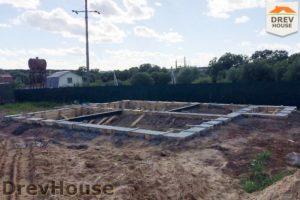 Строительство дома из бруса в деревне Сергеево   фаза 3