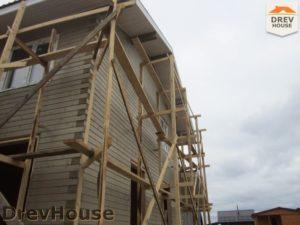 Строительство дома из бруса в поселке Жилево   фаза 16