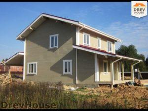 Строительство дома из бруса в поселке Жилево   фаза 17