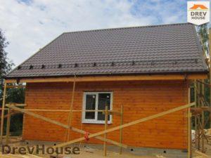 Строительство дома из бруса в поселке Жилино   фаза 15
