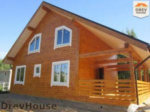 Строительство дома из бруса в поселке Жилино   фаза 17