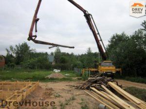 Строительство дома из бруса в поселке Жилино   фаза 2