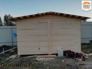 Строительство дома из бруса в поселке имени Цюрупы   фаза 8